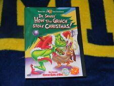 "Dr. Seuss - How the Grinch Stole Christmas/Horton Hears a Who - Dvd ""Like New"""