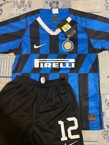 Maglie da calcio di squadre italiane completo Nike Inter Milan ...