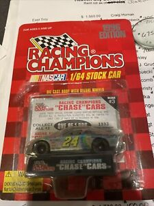 UNOPENED RC Chrome Chase Car 1:64 Jeff Gordon #24 DuPont 1996 Chevy Unpunched