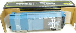 Weaver 76042 Boston & Maine Blue Box Car [3Rail] LN/Box