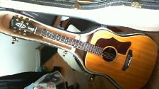 LATE  1968 EARLY1969 GIBSON J50 ADJ ACOUSTIC (REPAIRED CRACK ON HEADSTOCK/NECK