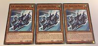 3 x F.A HANG ON MACH - COTD-EN087 1ST EDITION YuGiOh - NEW
