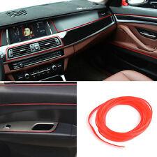 5M Red Edge Gap Line Interior Point Molding Accessory Garnish for Universal Car