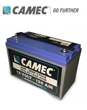 Camec 120AH SLA AGM Battery Caravan - RV AGM Deep Cycle Sealed Lead Acid 12Vlt
