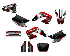 Honda CR125 CR250 Graphics kit 2000 2001 thick 24 mil racing vinyl #7777 Red