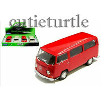Welly 1972 Volkswagen Bus T2 1:24 - 1:27 Diecast Display Model Toy Car 22472