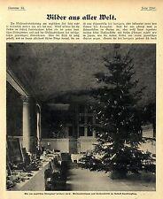 Weihnachtsbescherung am englischen Königshof auf Schloß Sandringham von 1904
