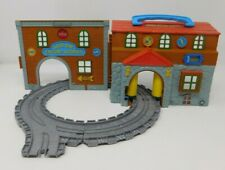 Thomas & Friends Take Along Sodor Engine Works Playset 4 PC Track Learning Curve