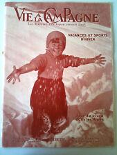 La vie à la campagne 12/1935 Vacances et Sport d'Hiver