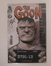GOON #13 NM, Eric Powell, Dark Horse Comics 2005 Signed Eric PowelL NEW/UNUSED