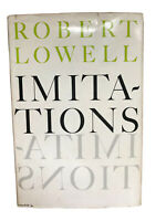 Robert Lowell IMITATIONS poetry in translation HC DJ First edition 1st printing
