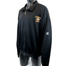 Vintage Mens Los Angeles Lakers Champion NBA Zip Up Jersey Workout Jacket 2XL