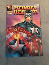 HEROES REBORN #1/2 WITH COA FROM WIZARD !!