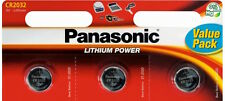 3xPanasonic CR2032 CR 2032 Lithium Coin Cell 3V Car Key fob battery remote/watch