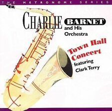 CHARLIE BARNET - Town Hall Concert Featuring Clark Terry -CD-NEW