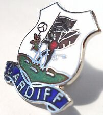 Cardiff City Wales Crest Small Pin Badge (0424)