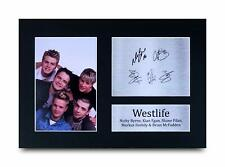 Westlife Signed Pre Printed Autograph Photo Gift For a Pop Fan