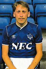 FOTO CALCIO > ALAN Harper Everton 1987-88