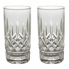 Waterford Lismore Hiball Highball Pair 2 Glasses 12 oz #5503182120 New