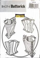 Butterick Pattern B4254 Misses' Lined & Boned Corset 6-8-10