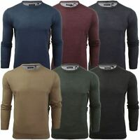 Brave Soul Mens Jumper Parse Fashion Crew Neck