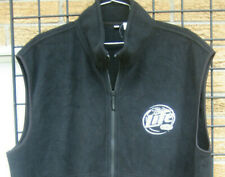 (XL) MILLER Lite beer (harley davidison 105th prototype) Fleece Vest jacket shir