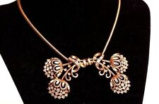 Vintage Large Crown Trifari Necklace, Pat Pend, STUNNING