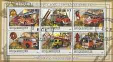 Timbres Pompiers Mozambique 2542/7 o année 2009 lot 13081 - cote : 19,80 €