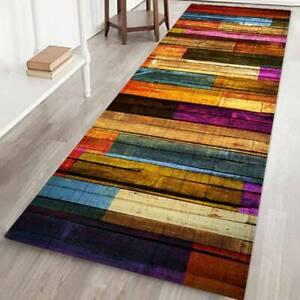 3D Printing Thicken Flannel Non-slip Door Mat Kitchen Bath Area Rug Floor Carpet