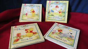 Set of 4 Disney Winnie The Pooh Friends Forever Books