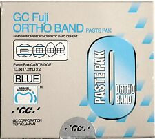Orthodontic GC Fuji Cem Ortho band cement (Genuine) exp Mar-2019 (2xcartridges)
