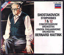 Bernard HAITINK: SHOSTAKOVICH Symphony No.7 & 12 Leningrad The Year 1917 (2CD)