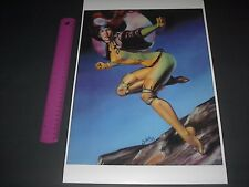 MARVEL COMICS THE UNCANNY X-MEN ROGUE POSTER PIN UP