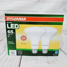SYLVANIA LED 65 W Equiv Dimmable Soft White BR30 Flood Light Bulbs 2 PACK