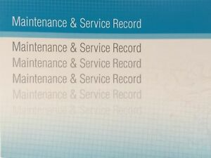 Dacia Generic Replacement Car Service History Book New Handbook Blank B