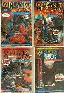 Planet of the apes set:#1-4 8.5 VF+ (1991-92)