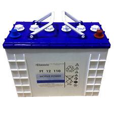 Exide Classic Block Batterie FT 12 110 Antriebsbatterie Motive Power 900 Zyklen