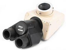 Nikon Optiphotlabophot Laboratory Trinocular Microscope Head No Eyepiece