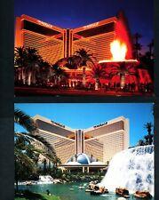 Mirage Casino Las Vegas Nevada 2 Postkarte Tag + Nacht LV Nevada