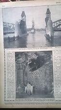 1910 4 Berlin Wintergarten Variete / Brücke in Stettin