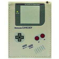 NEW OFFICIAL NINTENDO GAME BOY HANDHELD ORIGINAL GREY CONSOLE BI-FOLD WALLET