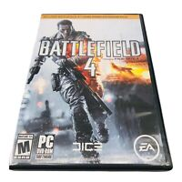 EA Battlefield 4 Limited Edition Rated M PC DVD-ROM 2013 EA Shooter All 3 Discs