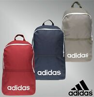 Adidas Adjustable Shoulder Straps Core Linea Backpack Size H 44 x W 37 x D 15 cm