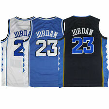 Mens Michael Jordan #23 NORTH CAROLINA TARHEELS Basketball Jersey All Stitched