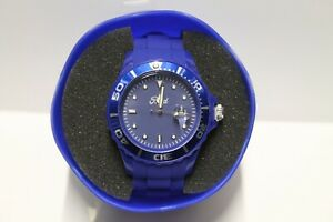 Ford Lifestyle Blue Rubber Mens Wrist Watch 36200363