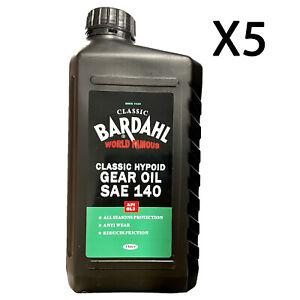 5 Lt Olio Cambio Trasmissione Bardahl Classic Gear Oil Sae 140 Api Gl3 Minerale