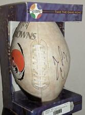Very RARE NFL Limited Edition Signed CLEVELAND BROWNS Tim Couch Football-MustSee