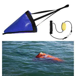 Fishing PVC Drift Sock Sea Anchor Drogue for Marine Yacht Jet Ski Sail Boat