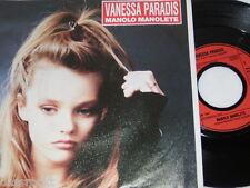 """7"""" - Vanessa Paradis / Manolo Manolete & You You - 1987 Lyrics # 1468"""