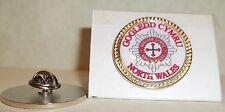 North Wales/Gogledd Cymru Fire and Rescue Service Lapel pin badge